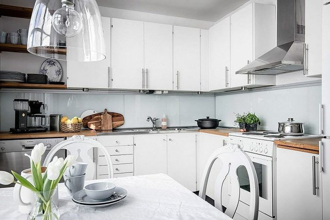 7 cách bố trí thông minh cho không gian nhà bếp thông thoáng - Ảnh 2.
