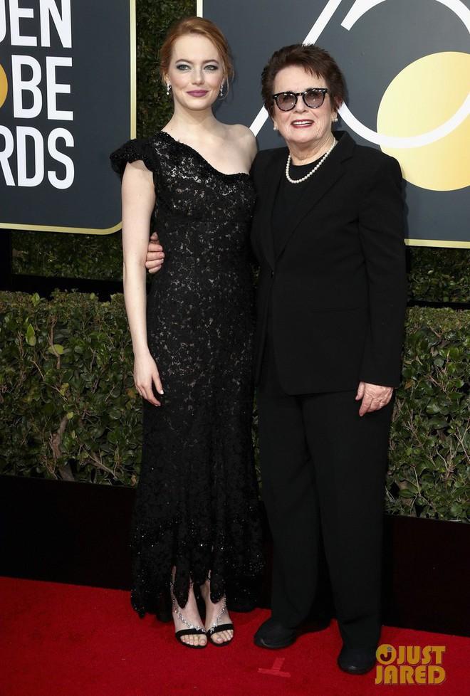 Thảm đỏ Quả Cầu Vàng 2018 ấn tượng hơn bội phần vì dàn mỹ nhân Hollywood mặc đồ đen - Ảnh 12.