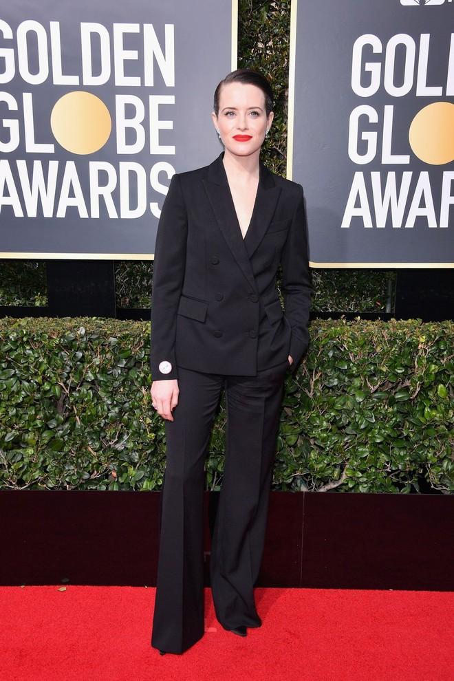 Thảm đỏ Quả Cầu Vàng 2018 ấn tượng hơn bội phần vì dàn mỹ nhân Hollywood mặc đồ đen - Ảnh 15.