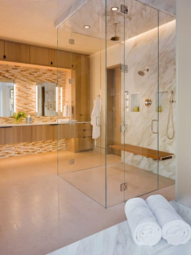 5 cách để tạo nên phòng tắm tối giản, giúp thư giãn tối đa cho người dùng - Ảnh 3.