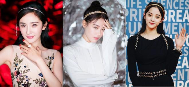 Không phải tóc dài thướt tha, 5 kiểu tóc điệu đà này mới được các sao Hoa ngữ thi nhau diện mỗi khi đi sự kiện - Ảnh 5.