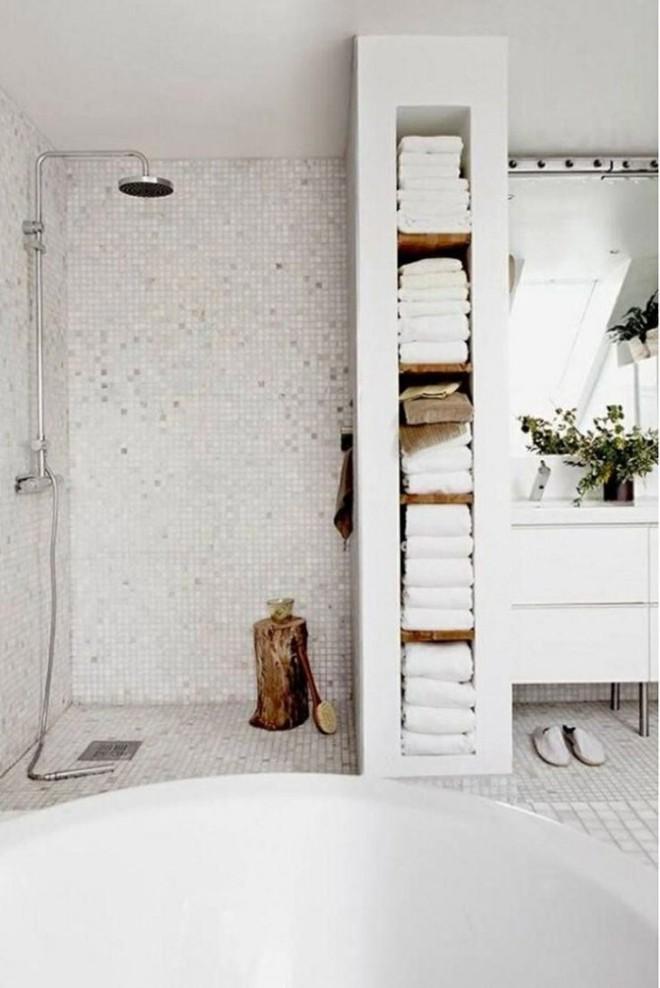 5 cách để tạo nên phòng tắm tối giản, giúp thư giãn tối đa cho người dùng - Ảnh 5.