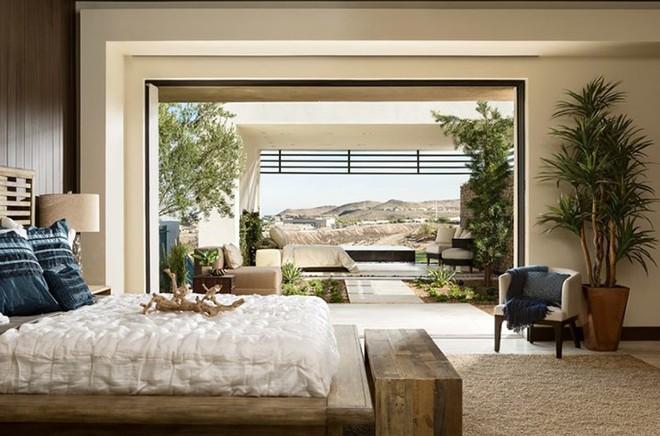 Những mẫu phòng ngủ hiện đại, thư giãn với cây cảnh - Ảnh 5.