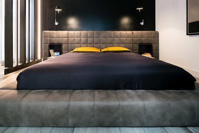 Ấn tượng với căn hộ kết hợp màu sắc trắng đen - Ảnh 5.