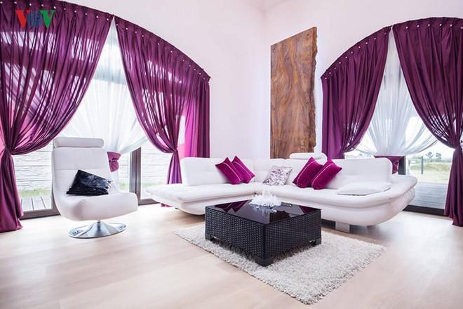 Lãng mạn sắc tím trong thiết kế nội thất - Ảnh 5.