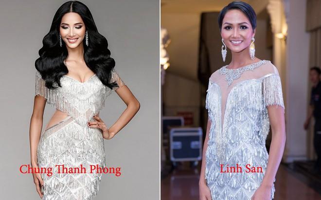 Kể từ khi đăng quang, từ Hoa hậu HHen Niê cho đến 2 Á hậu Hoàn vũ cứ mải miết dùng lại đồ cũ - Ảnh 6.
