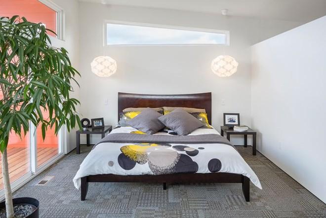 Những mẫu phòng ngủ hiện đại, thư giãn với cây cảnh - Ảnh 6.