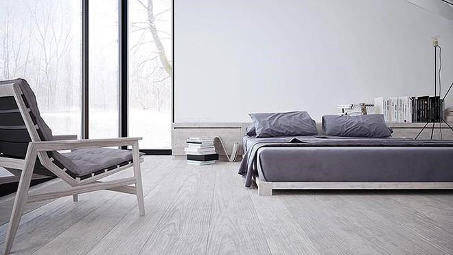 Thiết kế nội thất màu trắng và xám trong phong cách tối giản hiện đại - ảnh 7
