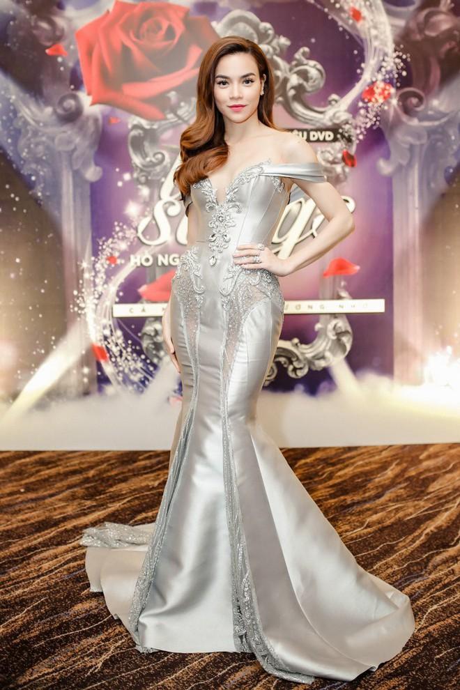 Vũ Ngọc Anh kiêu sa, lộng lẫy là thế vẫn lùi bước trước Hồ Ngọc Hà khi diện chung một mẫu váy - Ảnh 7.