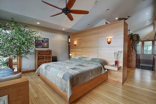Những mẫu phòng ngủ hiện đại, thư giãn với cây cảnh - Ảnh 7.