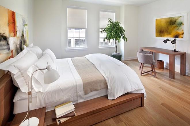 Những mẫu phòng ngủ hiện đại, thư giãn với cây cảnh - Ảnh 8.