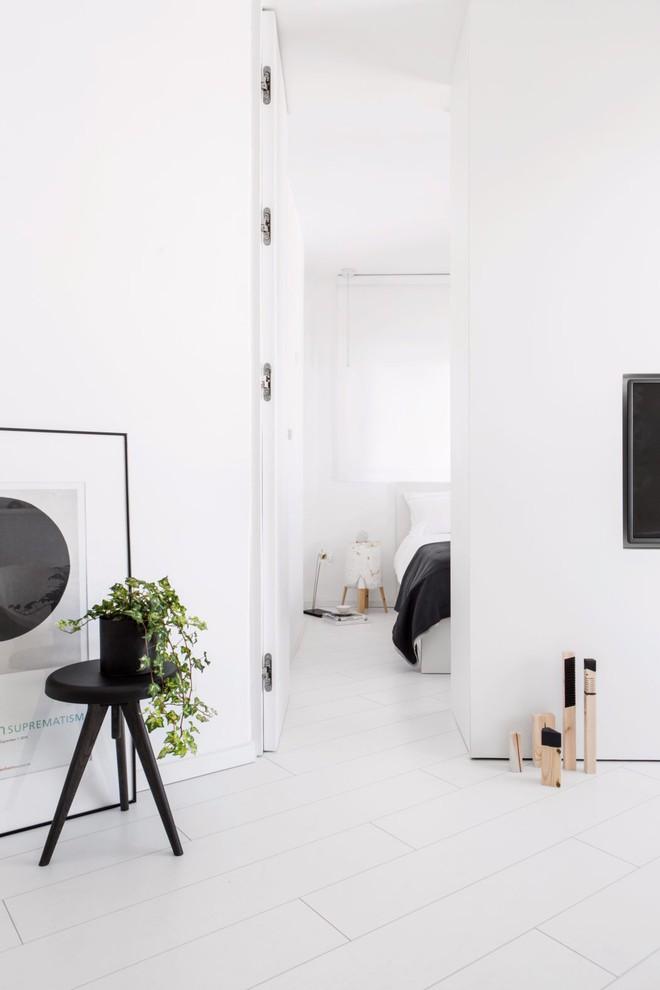 Căn hộ nhỏ hẹp 42m² nhìn rộng thênh thang nhờ sử dụng gam màu trắng tinh khôi - Ảnh 3.