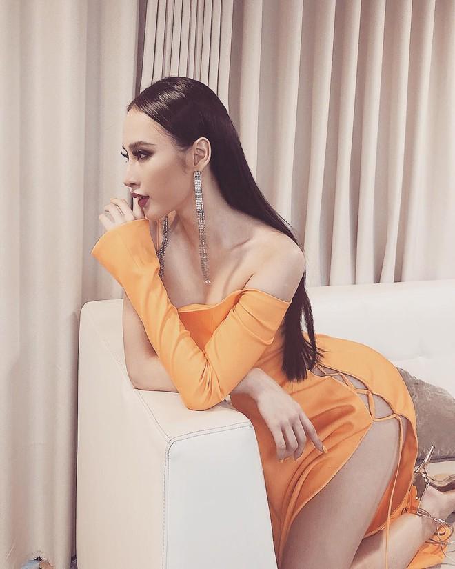 Mới đầu năm thôi, Angela Phương Trinh, Minh Tú đã thiêu đốt thảm đỏ với những thiết kế đầm xẻ cao bất chấp - Ảnh 5.