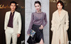 Sánh đôi cùng Huyn Bin tại hàng ghế đầu show thời trang, Mã Tư Thuần có phần nhạt nhòa kém sắc