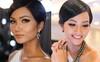 Tóc mái chéo nữ tính là thế, nhưng Hoa hậu H'Hen Niê lại vuốt gel