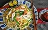Mỳ xào hải sản đổi món cuối tuần cho cả nhà lạ miệng