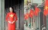 Một Hà Nội thân thương rợp cờ hoa đỏ thắm đón chào Quốc khánh