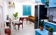 Căn hộ 59m² mang phong cách Địa Trung Hải đẹp đến từng chi tiết nhỏ ở Quận 4, Sài Gòn