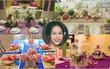 Bà mẹ Việt 3 con trang trí bàn ăn đẹp đến bất ngờ để giữ lửa ấm cho gia đình