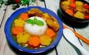 Nấu cơm cà ri gà béo ngậy thơm ngon cả nhà đều khen