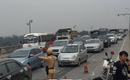 Hà Nội: gần chục xe ô tô đâm liên hoàn trên cầu Thanh Trì, giao thôn trì trệ nhiều giờ