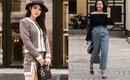 Ngắm street style tuần này để học tập các quý cô cách kết hợp đồ quần áo bình dân cùng phụ kiện hàng hiệu