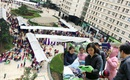 Cư dân chung cư ở Hà Nội rậm rịch tổ chức chợ Tết quê