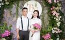 Lễ ăn hỏi đậm chất Hà Nội và đám cưới khách sạn 5 sao với bạt ngàn sen tươi của cô dâu phố cổ