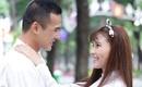 Thúy Diễm diện áo dài nữ sinh, hôn Lương Thế Thành thắm thiết