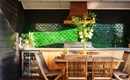 Trang trí nhà bằng gạch men tường hình vảy cá siêu độc đáo