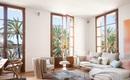 Cách phối gam màu pastel cho phòng khách mang phong cách Scandinavia