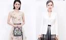 Angela Baby, Triệu Lệ Dĩnh: người quyến rũ, người thanh lịch khi tham dự show diễn mới của Dior