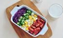 Salad rau củ giòn ngon chống ngán ngày Tết