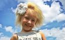 Cô bé 6 tuổi mắc hội chứng hiếm gặp khiến mái tóc dựng đứng bất thường