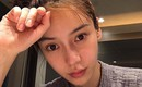 Angelababy khoe mặt mộc xinh đẹp, Huỳnh Hiểu Minh được khen chăm vợ khéo