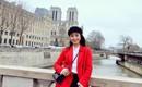 Trần Nhung, nữ MC xinh đẹp của VTV: Cuồng chân đi du lịch cả năm, nhưng cứ Tết là phải về nhà