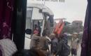 Va chạm liên hoàn trên tốc Pháp Vân - Cầu Giẽ khiến 2 người bị thương, 4 xe ô tô hư hỏng