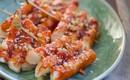 Mách bạn cách làm bánh gạo chiên kiểu Hàn ăn vặt cực đã