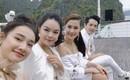 Nhã Phương ăn diện xinh đẹp, vui vẻ dự sự kiện, không quan tâm chuyện Trường Giang thừa nhận thích Nam Em