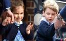 Sau bao ngày chờ đợi, cuối cùng Hoàng tử George và Công chúa Charlotte cũng được bố dẫn đến gặp em