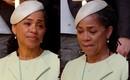 Xúc động hình ảnh mẹ Công nương Meghan cô độc, lủi thủi một góc nén nước mắt, chúc phúc cho gái tại đám cưới Hoàng gia