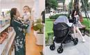 Cuối tuần của các hot mom: Hằng Túi xinh xắn ở Sài Gòn, Huyền Baby được chồng tự tay nấu bữa tối