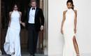 Cả hai mẫu váy cưới của Tân công nương Meghan đều đã có