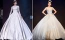 Cùng hóa cô dâu trong cổ tích, H'Hen Niê và Huyền My khiến người ta khó mà phân định: Ai đẹp hơn ai?