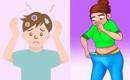 Mùi ở mỗi vị trí trên cơ thể cảnh báo những nguy cơ tiềm ẩn khác nhau, đặc biệt là mùi ở da đầu