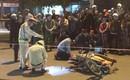 Đà Nẵng: Người thân ngã gục bên thi thể nam thanh niên tử vong sau va chạm với xe tải