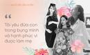 Sao Việt tự tin khoe bụng bầu không cần cưới hỏi: Mình hạnh phúc thì mình khoe thôi