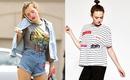 Áo phông cảm hứng retro - items đủ sức chinh phục mọi cá tính và phong cách của các nàng sành mốt