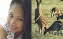 Người mẹ vật lộn với kangaroo hung hãn để cứu con gái 2 tuổi