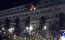 Cháy tại tòa nhà Union Square trên phố đi bộ Nguyễn Huệ trong đêm